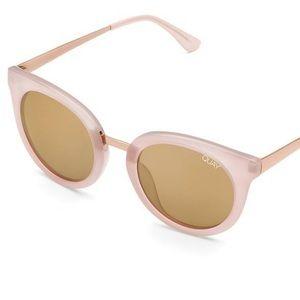 Quay x Benefit Pink Shook Sunglasses NWT
